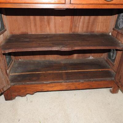 Antique Chestnut Pie Safe