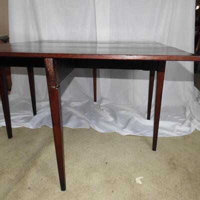 Lincoln Era Gate leg, Drop leaf table