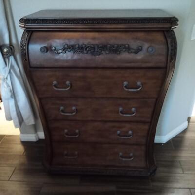 Dark Brown Dresser
