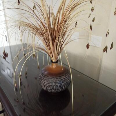 Vase with Reeds