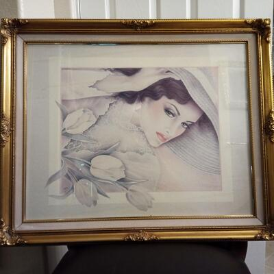 Print of Lady