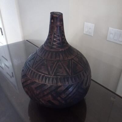 Carved Vase / Jug