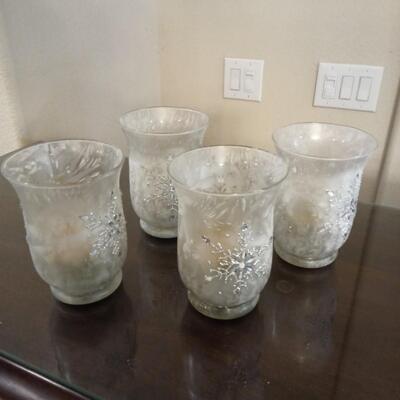 Four Crystal Goblets
