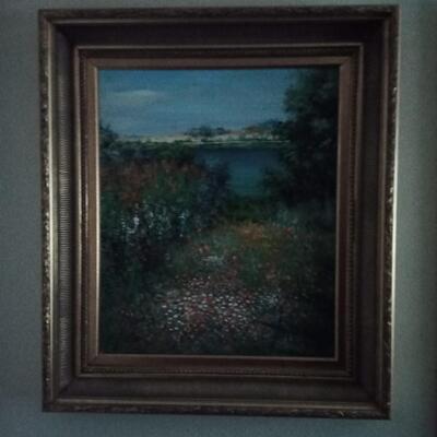 Oil Painting of Flield