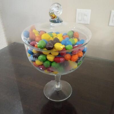 Glass Candy Dish