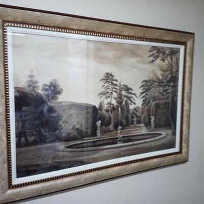 Large Print of Fontain