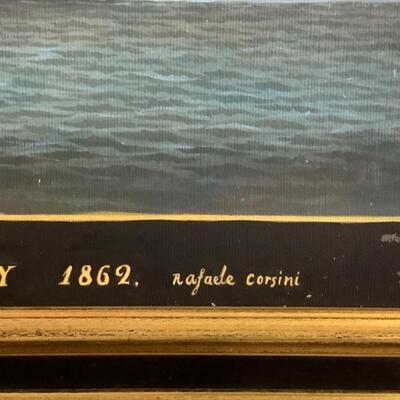 106 Reproduction Paramount of Boston Capt'n Oliver Painting by Rafael Corsini