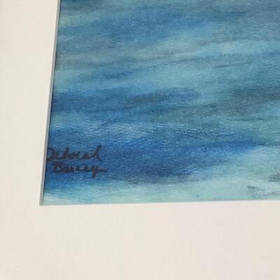 110 Original Sailboat Pastel Painting by Deborah Barney
