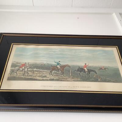 115 Symptoms of a Skurry in a Pewy Country Framed Lithograph
