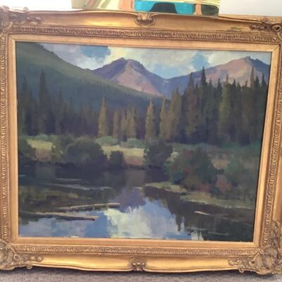 119 Original Landscape Oil Painting by Stephen Elliott