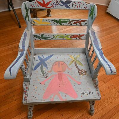 Chair by Mose Tolliver