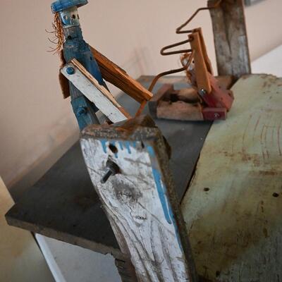 Work sculpture