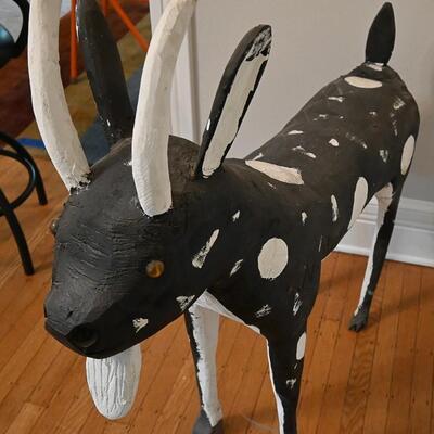 Goat sculpture by Wesley Merritt