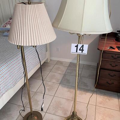 LOT#14MB: Floor Lamp Lot