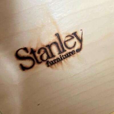 LOT#18U: Stanley Furniture Co. Desk and File Cabinet