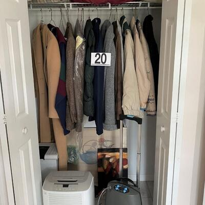 LOT#20U: Closet Lot #1