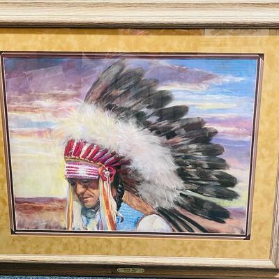 Lot 1  Original Pastel Painting by Carol Theroux