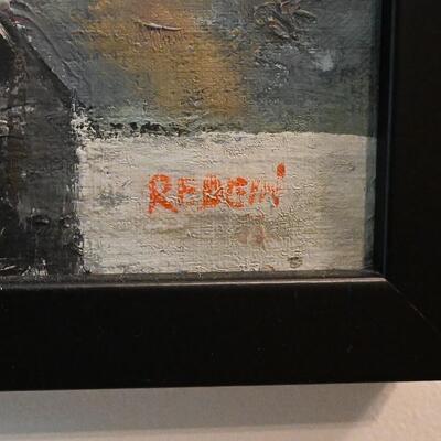 Alex Redein Circus painting