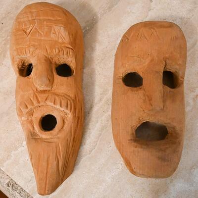 Mask pair by Wesley Merritt