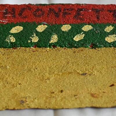 "Brick #1 by Albert ""Kid"" Mertz"