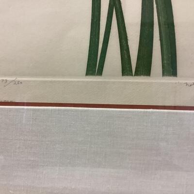 216. Artisan Signed & Numbered Framed Artwork ( 173/250 )
