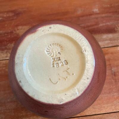 LOT 6 - #1828, Rookwood Pottery, Arts & Crafts, Small Vase