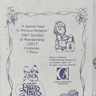 3 - A Special Toast To Precious Moments