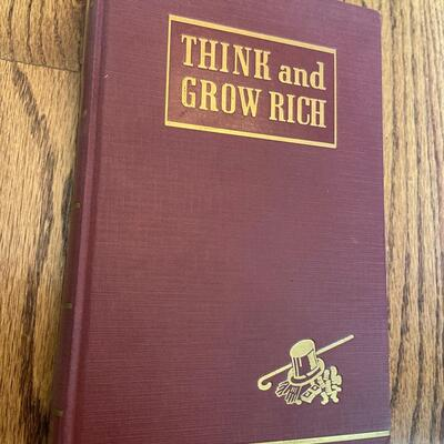 LOT 10 - Think and Grow Rich by Napoleon Hill, 1940, 1st edition 8th printing