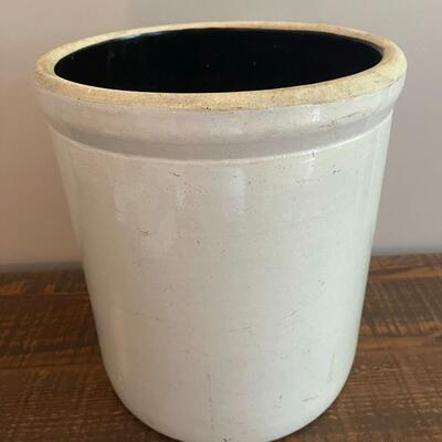 LOT 7 - Five (5) Gallon, Crock with lid, Stoneware