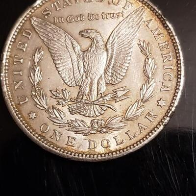 1900 P Morgan Silver Dollar Nice coin decent details .Probably uncirculated