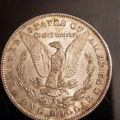 1878  P morgan silver dollar