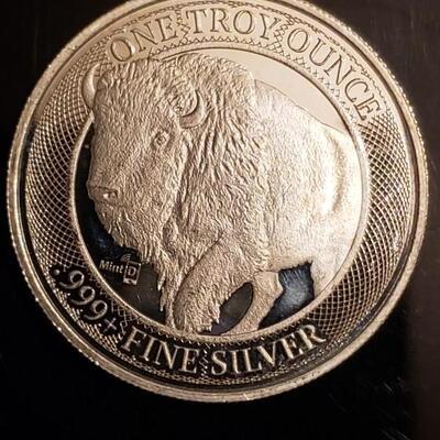 1 oz 999 silver .Bu fresh from a tube