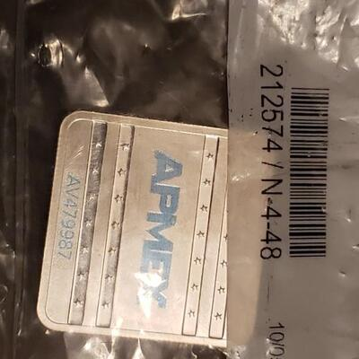 1 oz apex silver Never opened solid in apex packaging