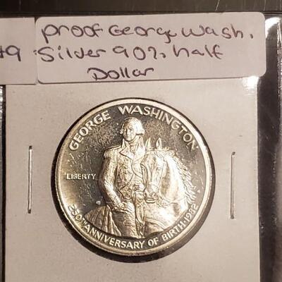 Proof 90 % George Washington half