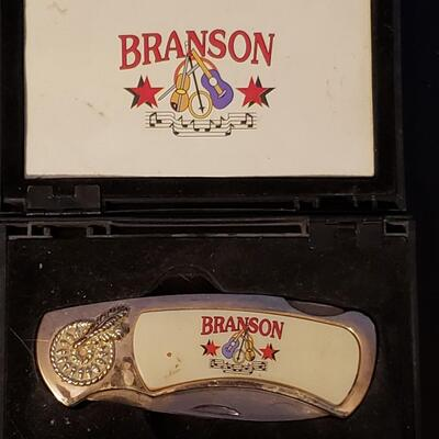 Branson pocket knife Collector knife comes in display box