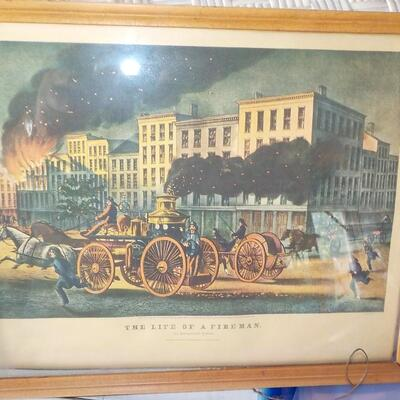 Currier & Ives real Print