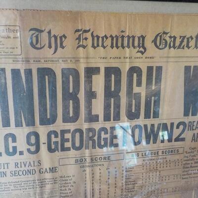 Original  Worcester news