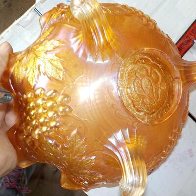 1960's Depression Glass Bowl.