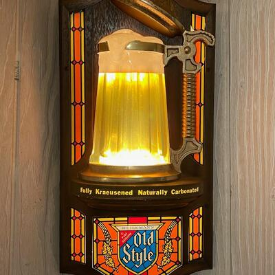 Old Style Beer light / mirror / works perfectly