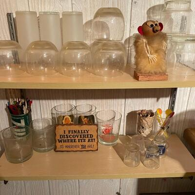 collection of barware & bar items