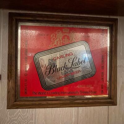 Carling Black Label Beer Mirror