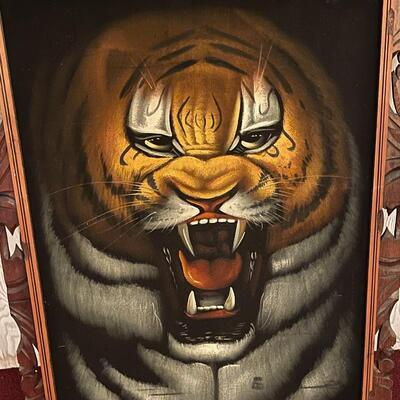Vintage Velvet Tiger