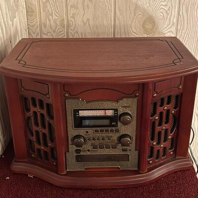 Edison radio / cassette / LP