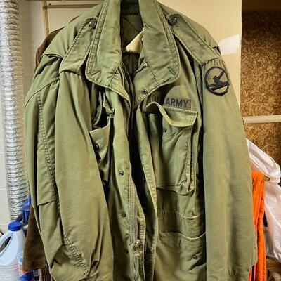 US Military Greens / upper BDU