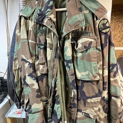 US Army BDU jacket / coat
