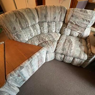 Large sectional sofa / end tables / recliners / Multifunctional
