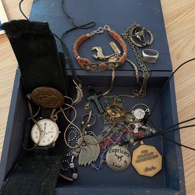 Box of jewelry