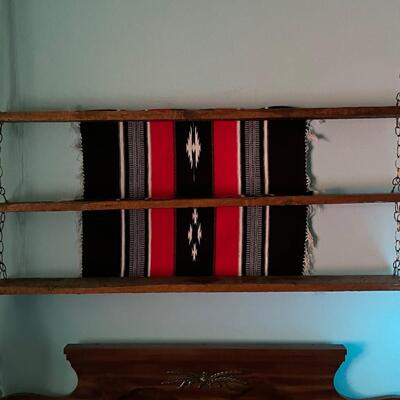 Native American textile wall hanging