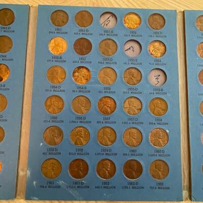 1911-1971 Lincoln coin set