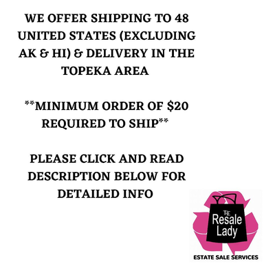 CLICK HERE FOR SHIPPING INFO